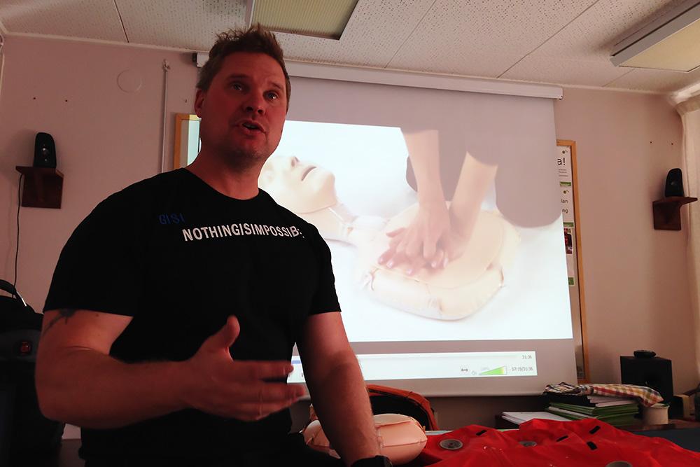 Stefan Johansson Från Räddningstjänsten Var Utbildningsledare