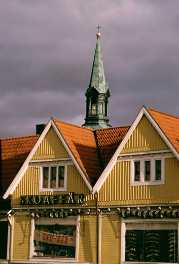 stadsbebyggelse Tidaholm