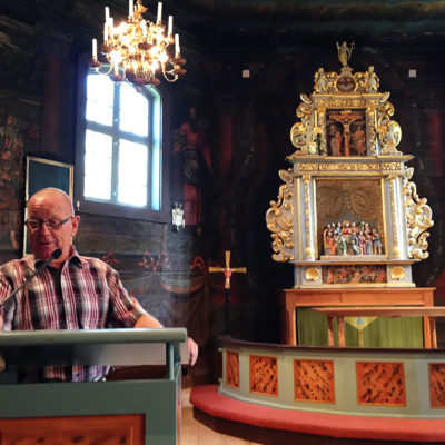 F.d. Kyrkvaktmästare Och Guide Leif Götesson